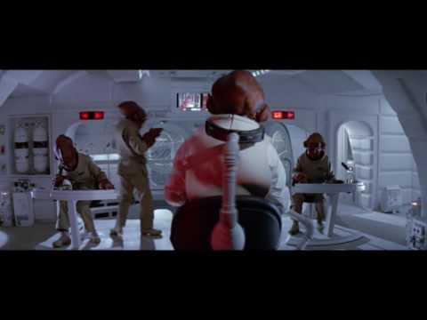 It's a trap - Star Wars Return Of The Jedi Death Star Approach