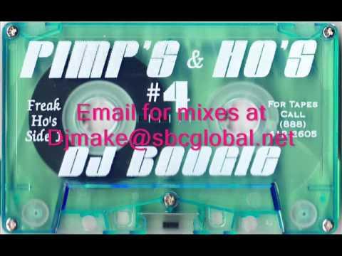 Pimp's & Hoe's vol 4 - Dj Boogie Chicago Ghetto House Juke Mix
