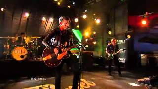 Arctic Monkeys- Do I Wanna Know?-Live Jimmy Kimmel 2013