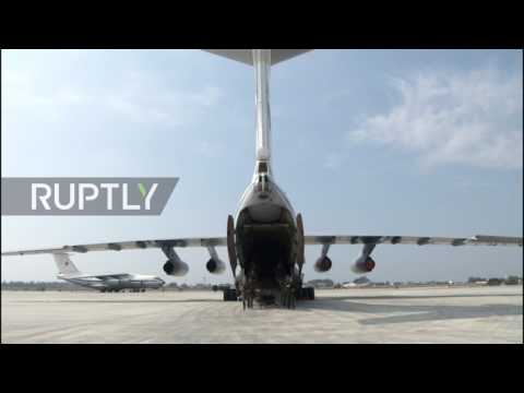 Russia: MoD sappers touch down in Syria to clear Palmyra of IS explosives