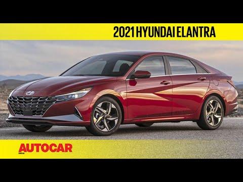 2021 Hyundai Elantra - Radical Next-gen Octavia Rival | First Look | Autocar India
