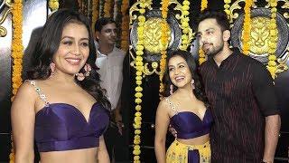 Neha Kakkar's CUTE Moments With Boyfriend Himansh Kohli At Ekta Kapoor's Diwali Party 2018