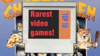 Top 10 Rarest and Most Expensive Video Games in History