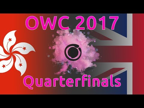Osu! World Cup 2017 | Quarterfinals | Hong Kong Vs United Kingdom | With Twitch Chat