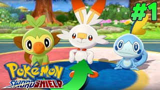 Who Is The Best Starter? - Pokemon Sword And Shield ⚔ ? Lets Play/ Walkthrough Part 1