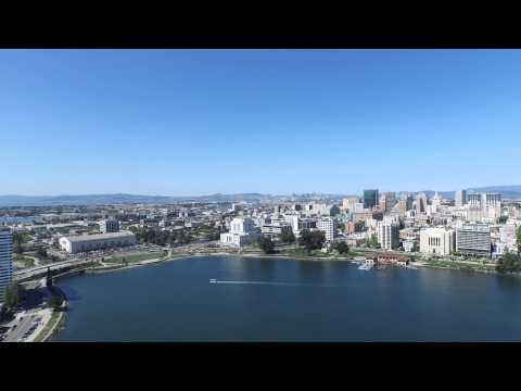 Downtown Oakland Is Our Treasure ! Drone Video 2015  NBA CHA