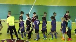Матч по мини-футболу Губкин-Белгород 1-й тайм.  Часть 2 из 5