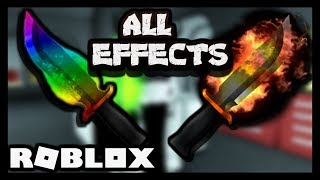 USING EVERY EFFECT IN ROBLOX ASSASSIN