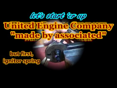United Associated hit and miss engine ignitor repair