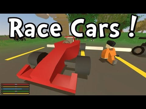 UNTURNED - RACE CAR! TAXI! BUS! QUAD!  (Gameplay Playthrough 1080p)