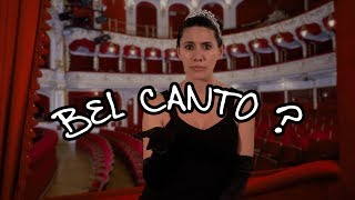 We Love Opera! What does bel canto mean at the opera?