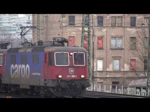 Trains Around Dresden, Saxony, Germany - December 2013 & 2016