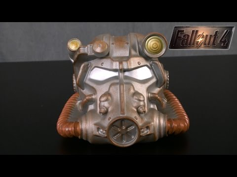 Fallout 4 Power Armor Helmet Coin Bank from USAopoly