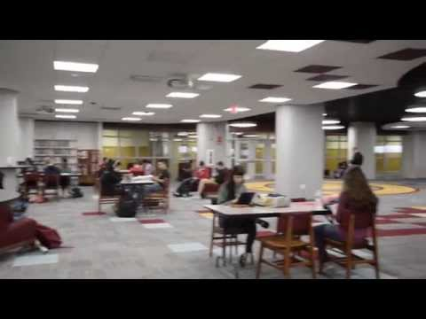 The New Schaumburg High School Media Center