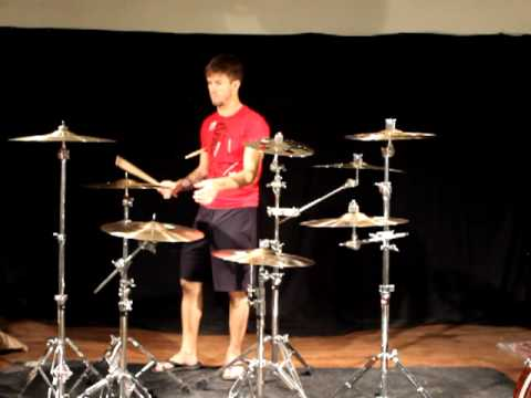 Greenbrier Percussion - Stephen Whitesides With Some New Sabian Cymbals