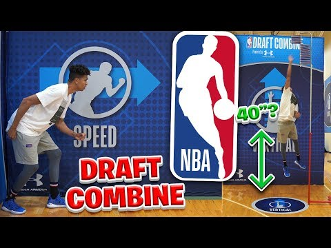 MY NBA DRAFT COMBINE DEBUT!