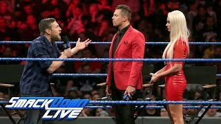 "On ""Miz TV,"" Daniel Bryan reveals SmackDown LIVE"