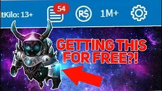 TRYING TO GET EXPENSIVE ITEMS ON ROBLOX FOR FREE!!