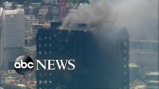 New developments in the deadly London high-rise apartment fire
