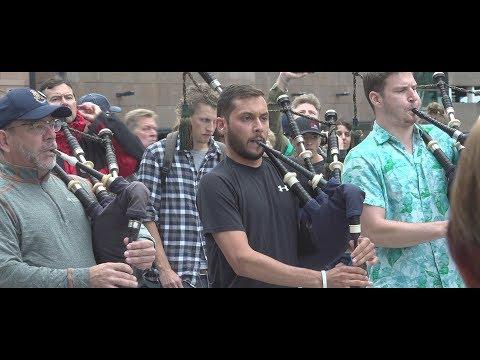 78th Fraser Highlanders LIVE in Glasgow