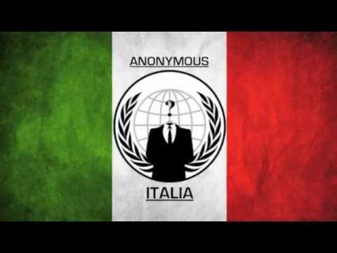 youtube anonymous italia - sventato attacco italia