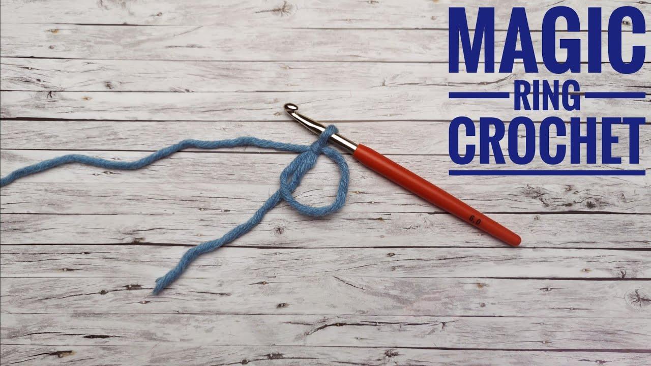 Magic Ring Crochet Magischer Ring Häkeln Youtube