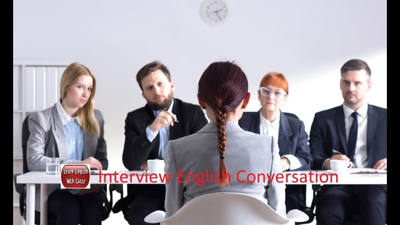 Interview English Conversation -Common Job Interview ...