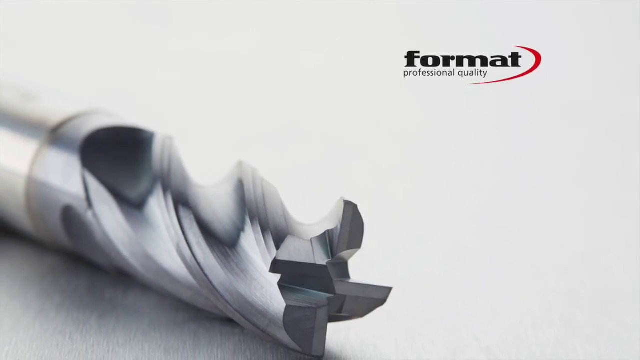 FORMAT Quality: The FORMAT GT milling cutter - now on video