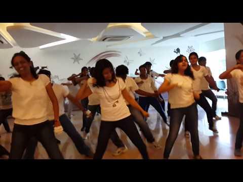 Group dance @ tieto