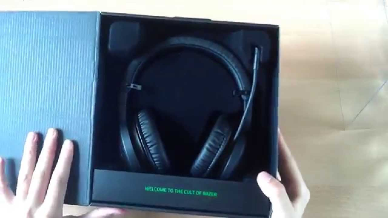 Razer Kraken USB-Unboxing Review +  Mic Test  ! - YouTube 3b8f4a1399