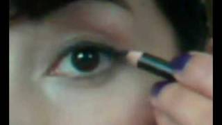 Easy  Eyeliner Tutorial- pencil, liquid, gel, powder Thumbnail