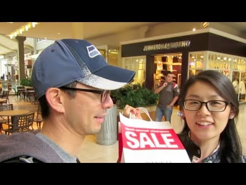 Newlyweds Vlog: Our First Jobs & Bellevue Square