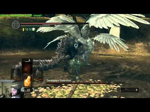 Dark Souls - Drunkthrough Part 35: The Sanctuary Guardian Falls