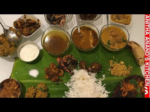 Non Veg Full Meals / Non Veg Thali - Tamil Commentary - 1080p Full HD