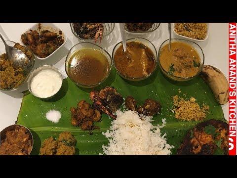 Non Veg Full Meals / Non Veg Thali - Tamil Cooking For Beginners