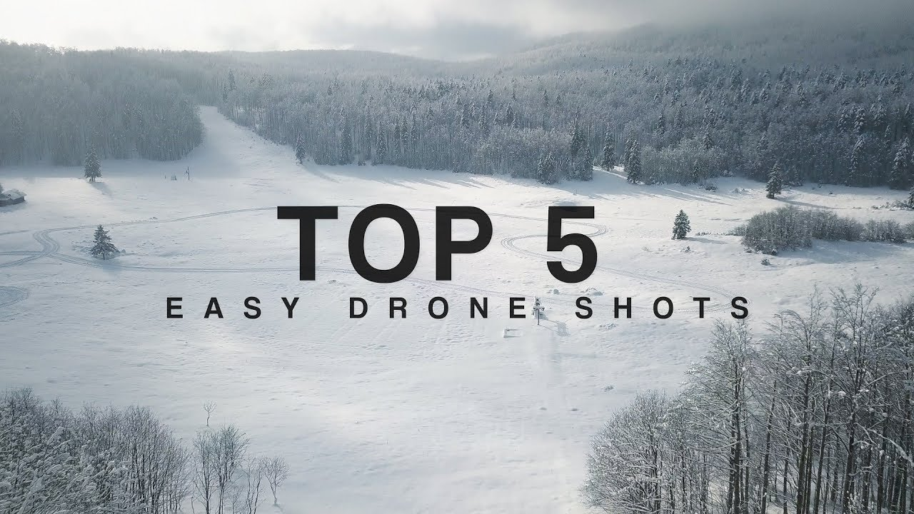 how to get drone shots without a drone