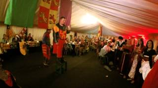 Knight of Nottingham Banquet ( Medieval drinking game)