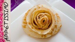 Розы из блина - 3 способа. Как красиво подать блины / How to make pancake rose. 3 ways