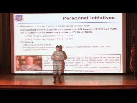 Air Force Materiel Command Commander's Call