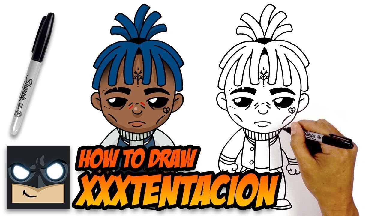 How to Draw XXXTENTACION