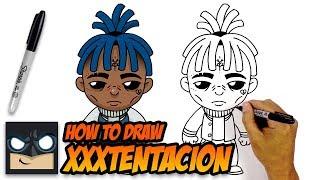 How to Draw XXXTENTACION | Step-by-Step Tutorial Video