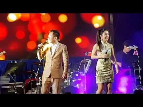 承泽 + 冯高美 - 歌台搞笑 / 承泽 - 七天  Leon Lim + Im Komei - Banter / Leon Lim - Mandarin Song @ 群星娱乐制作 歌台之夜