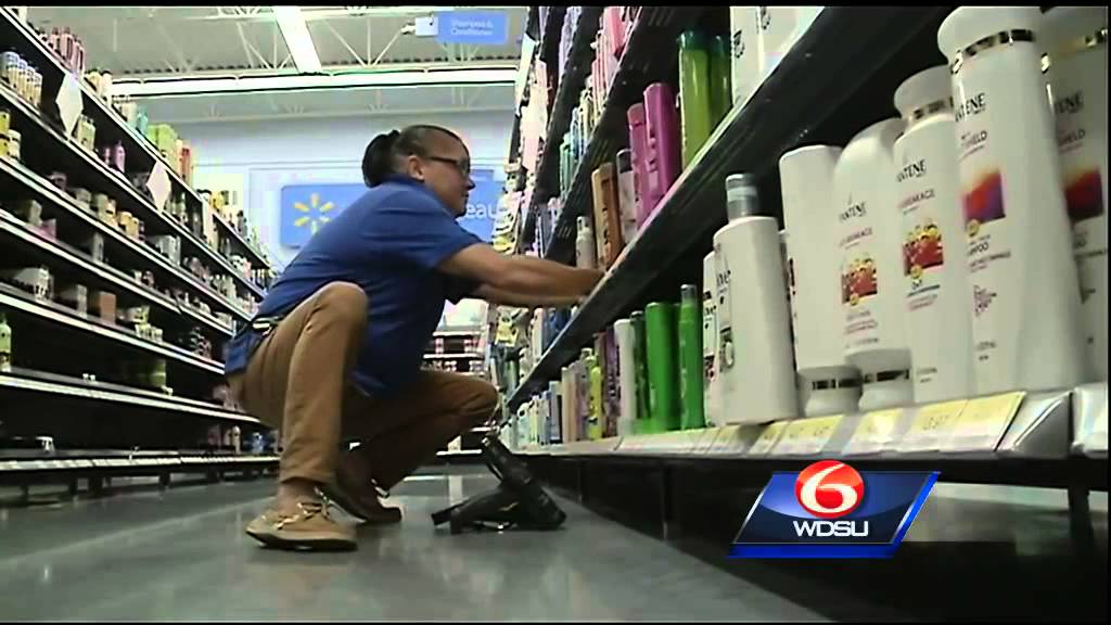 Walmart Stocking Shelves For Summer Grand Opening
