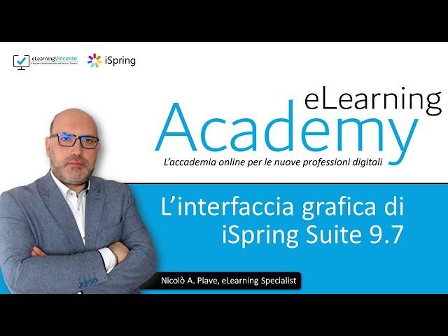 L'interfaccia grafica di iSpring Suite 9.7 - Tutorial Italiano