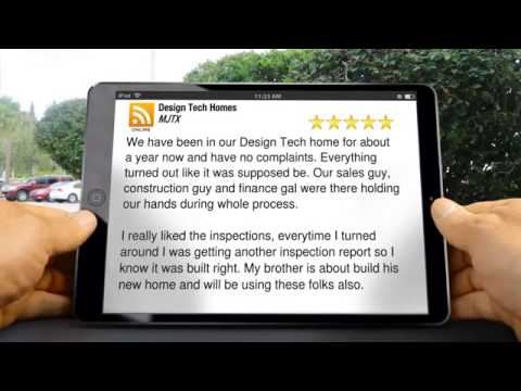 Design Tech Homes Spring Exceptional 5 Star Review by MJTX - YouTube