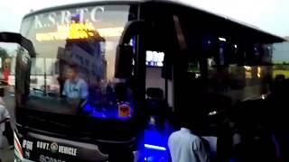 KSRTC Bus accident at pampady kottayam in kerala