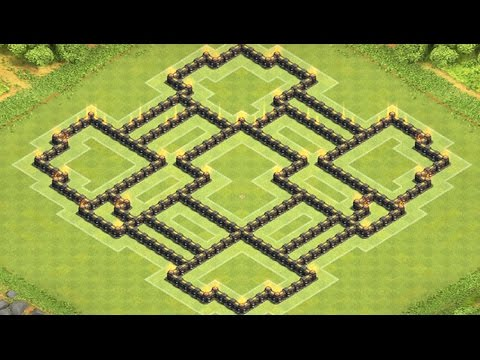 Clash of clans Rathaus 9 CK Dorf I Clash of Bases