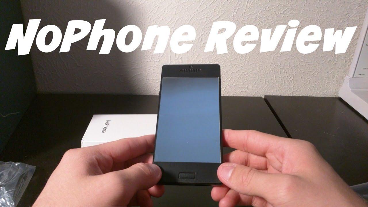 Unboxing the NoPhone w/ Selfie Upgrade