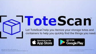 ToteScan™ mobile app introduction