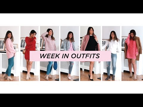 Week in Outfits: Winter Edition | Mimi Ikonn